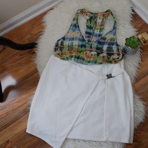 White skirt from Asos